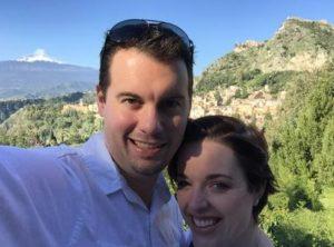 Nicole Krizek and Husband